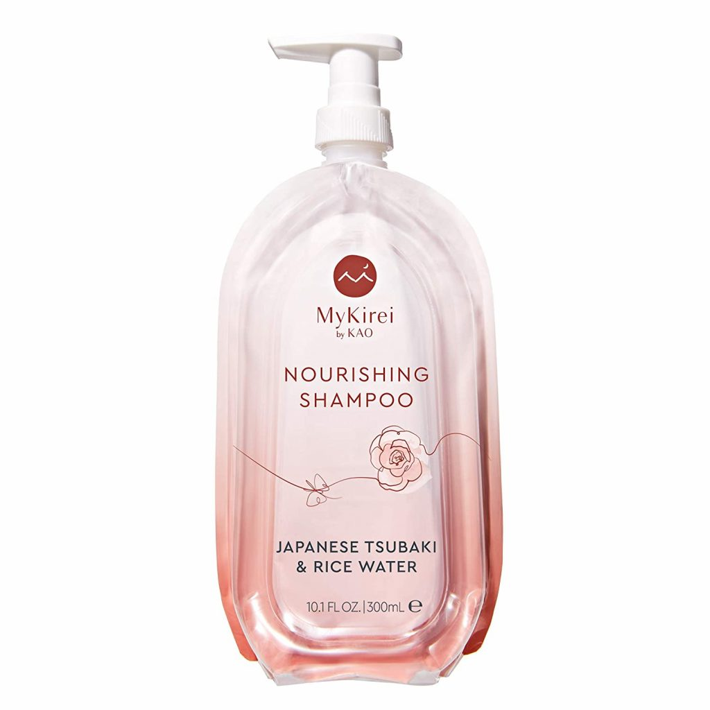 Shampoo with Moisturizing Japanese Tsubaki & Rice Water, Paraben Free Formula for All Hair Types, Cruelty Free and Vegan Friendly, Sustainable Bottle